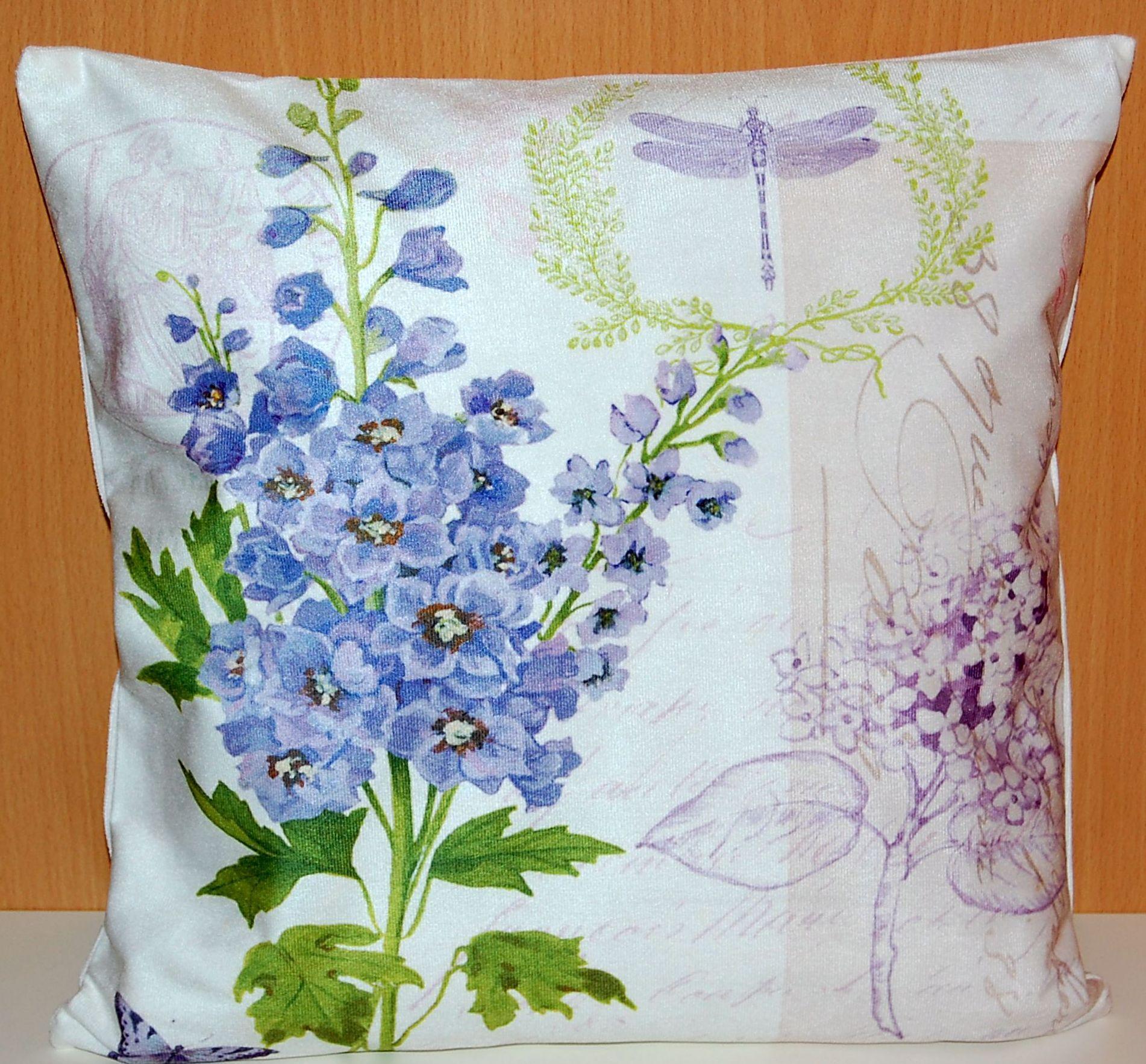 kissenh lle 40x40 cm soft touch kissenbezug fotooptik blumen bunt sofa lounch ebay. Black Bedroom Furniture Sets. Home Design Ideas
