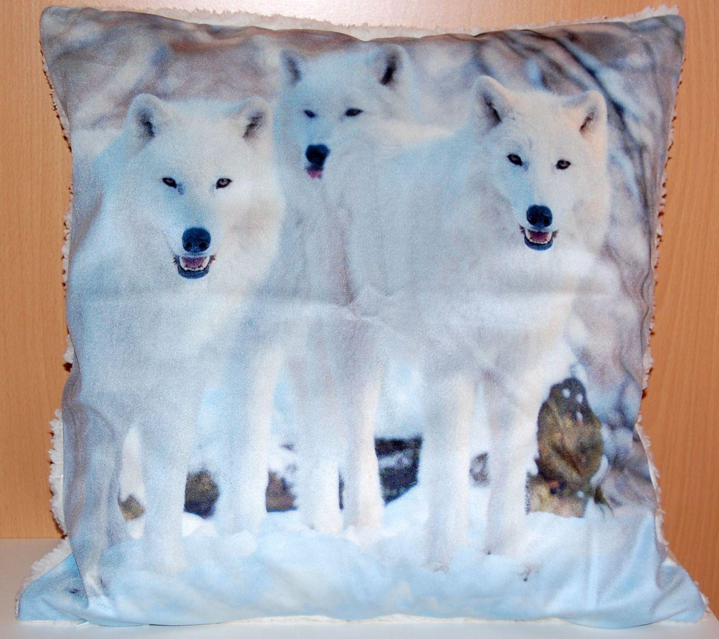 fotokissen 50x50 cm weihnachten kissenh lle pl schkissen kissenbezug kissen sofa. Black Bedroom Furniture Sets. Home Design Ideas