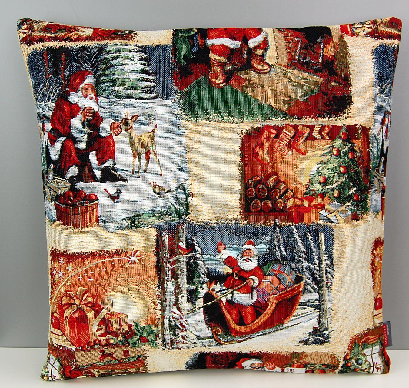 tischdecke webgobelin weihnachten nostalgie christmas. Black Bedroom Furniture Sets. Home Design Ideas