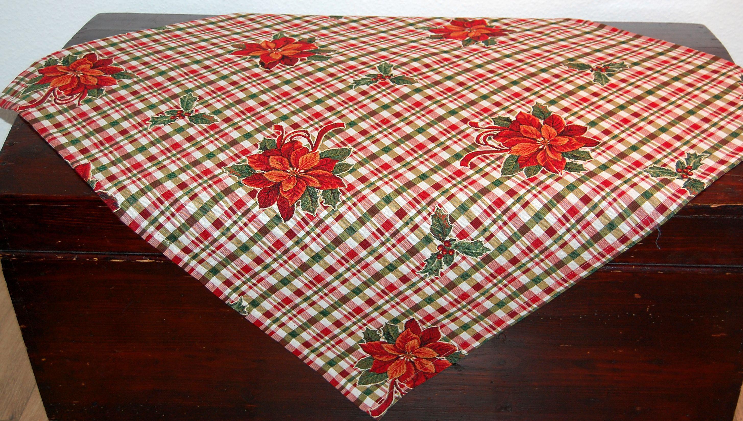 tischdecke weihnachten tischl ufer kissenh lle. Black Bedroom Furniture Sets. Home Design Ideas