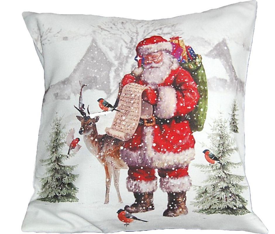 kissenh lle 40x40 cm sofakissen weihnachten nostalgie. Black Bedroom Furniture Sets. Home Design Ideas