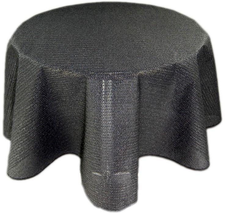 tischdecke rund gartendecke saum abwaschbar gartentischdecke balkon wetterfest ebay. Black Bedroom Furniture Sets. Home Design Ideas