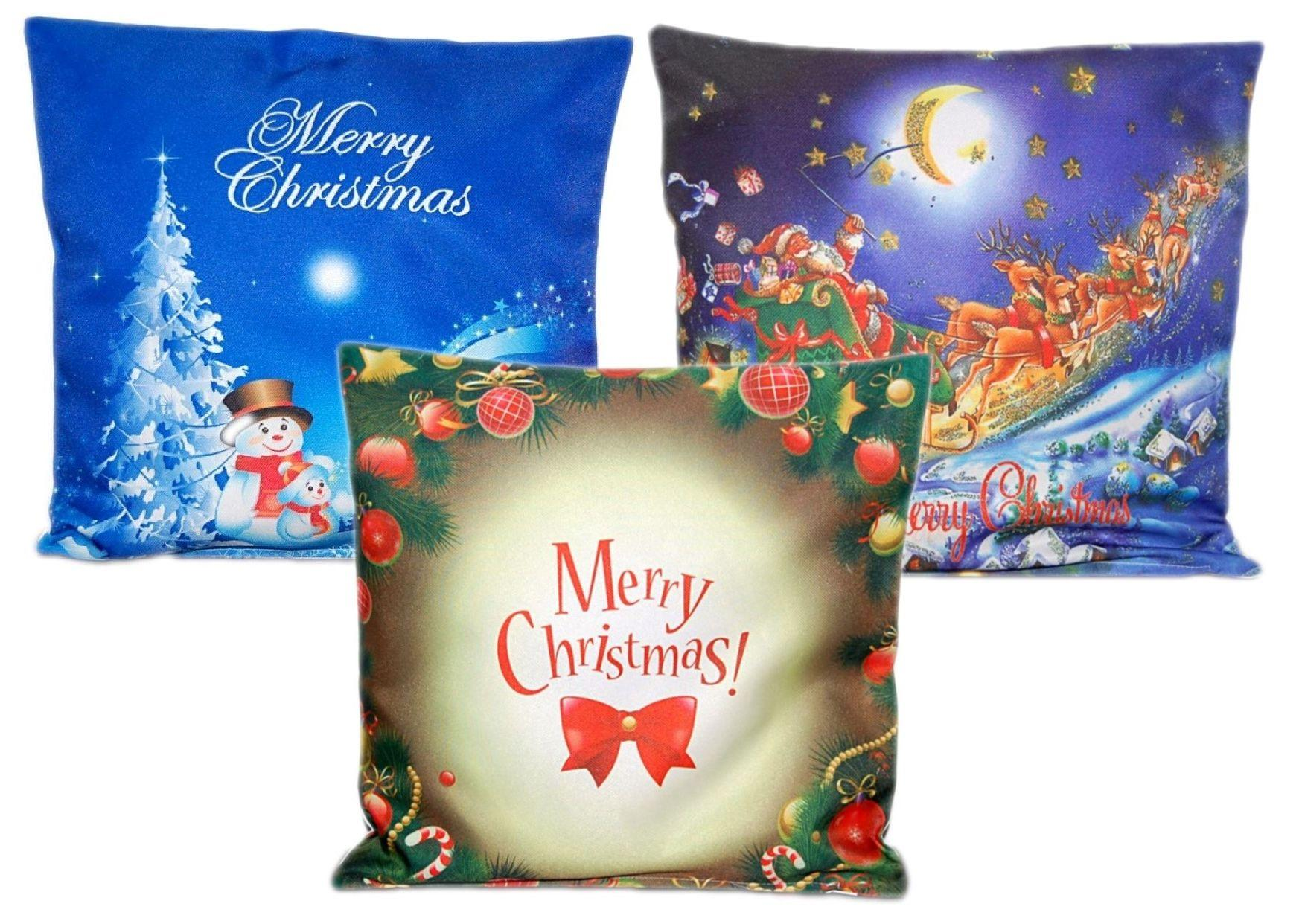 kissenh lle 40 cm x 40 cm weihnachten landhaus herz rot kariert sofakissen bezug ebay. Black Bedroom Furniture Sets. Home Design Ideas