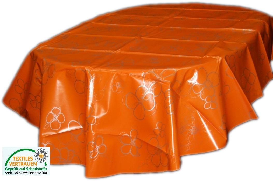 tischdecke abwaschbar 140x200 cm oval wachstuchdecke gartendecke k chendecke ebay. Black Bedroom Furniture Sets. Home Design Ideas