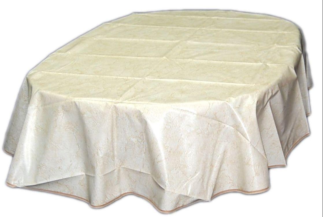 tischdecke 140x180 cm oval wachstuch m saum abwaschbar gartendecke k chendecke ebay. Black Bedroom Furniture Sets. Home Design Ideas