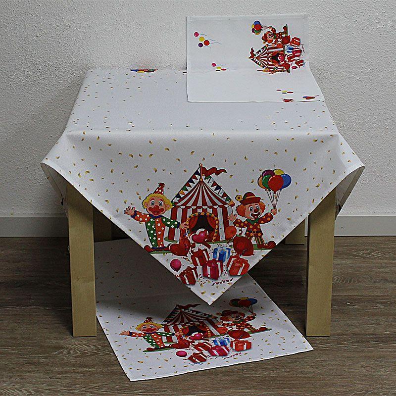 Tischdeko Kürbis /& Katze Tischdecke orange HALLOWEEN Tischläufer Hexen