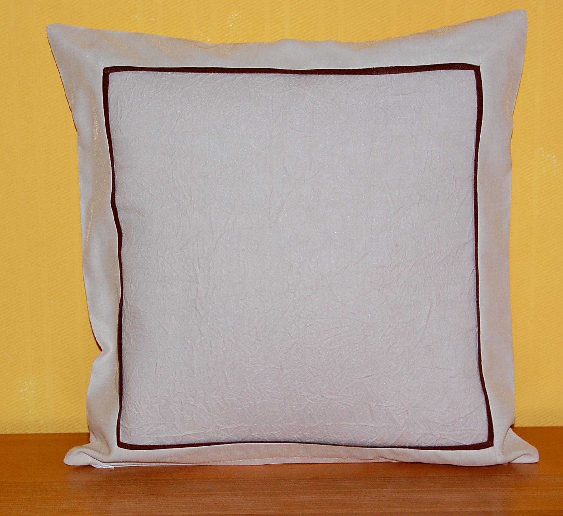 tischdecke neutral beige zierband braun tischl ufer kissenh lle platzdeckchen ebay. Black Bedroom Furniture Sets. Home Design Ideas