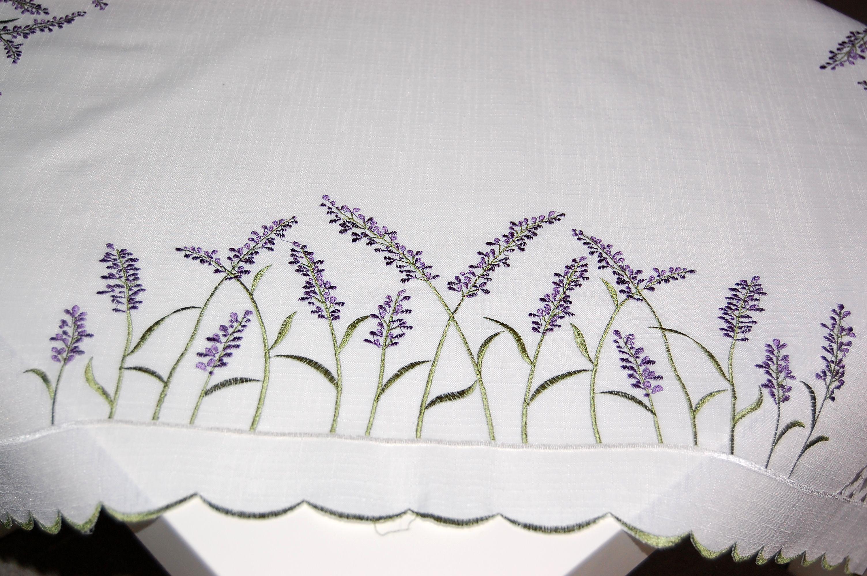 tischdecke 85x85 cm wei lavendel lila gr n mitteldecke kaffeedecke decke eckig ebay. Black Bedroom Furniture Sets. Home Design Ideas
