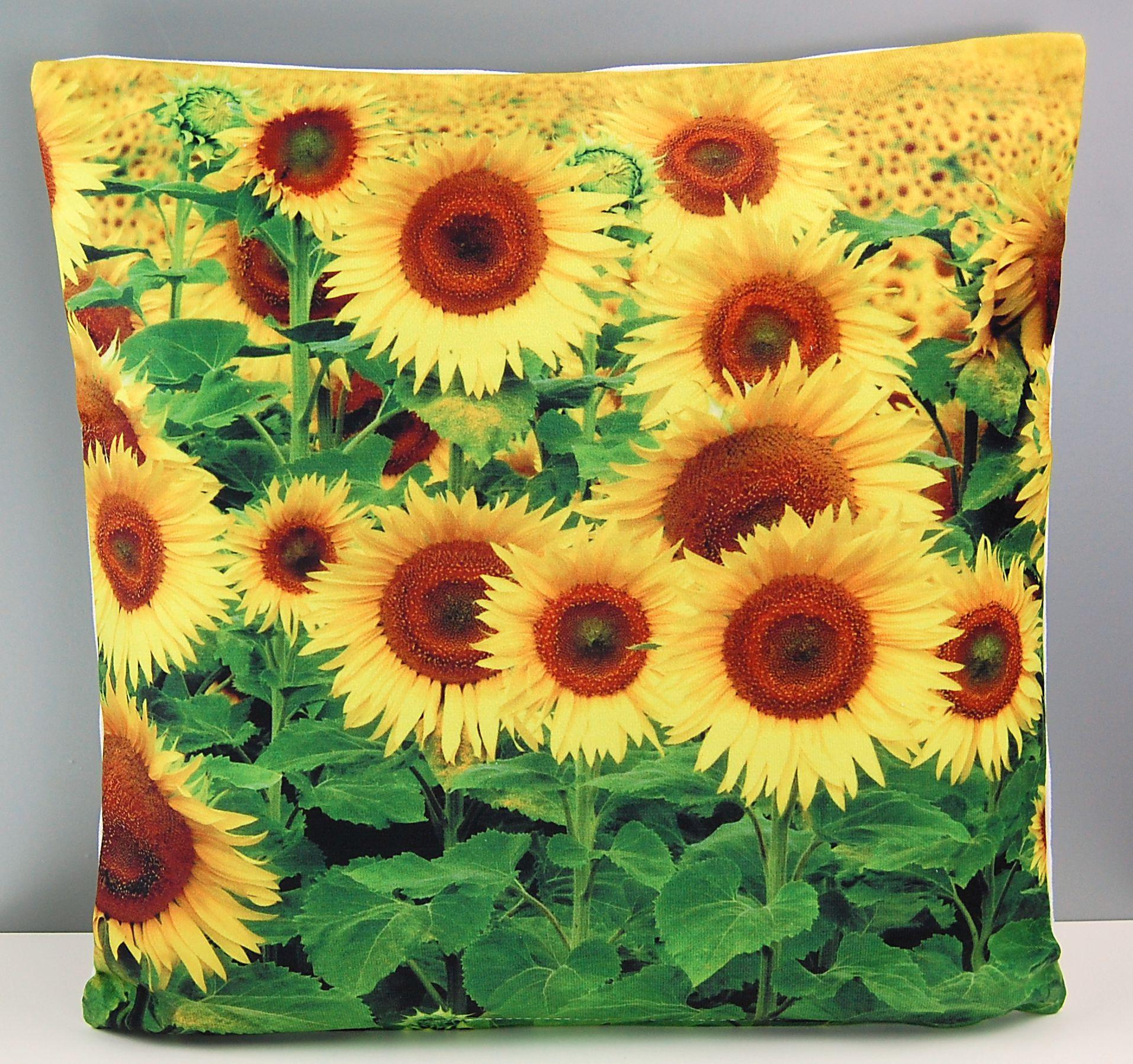 Kissenhuelle-40x40-cm-Kissenbezug-Foto-HERBST-Sofakissen-Kissen-Blaetter-Sunflower