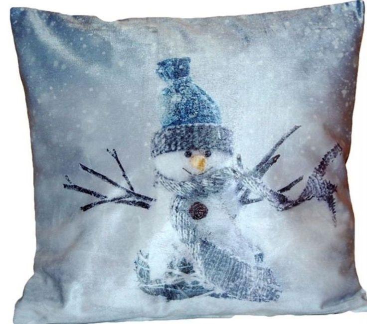 Kissenhülle Weihnachten Kissenbezug 40x40 Cm Kissen Winter
