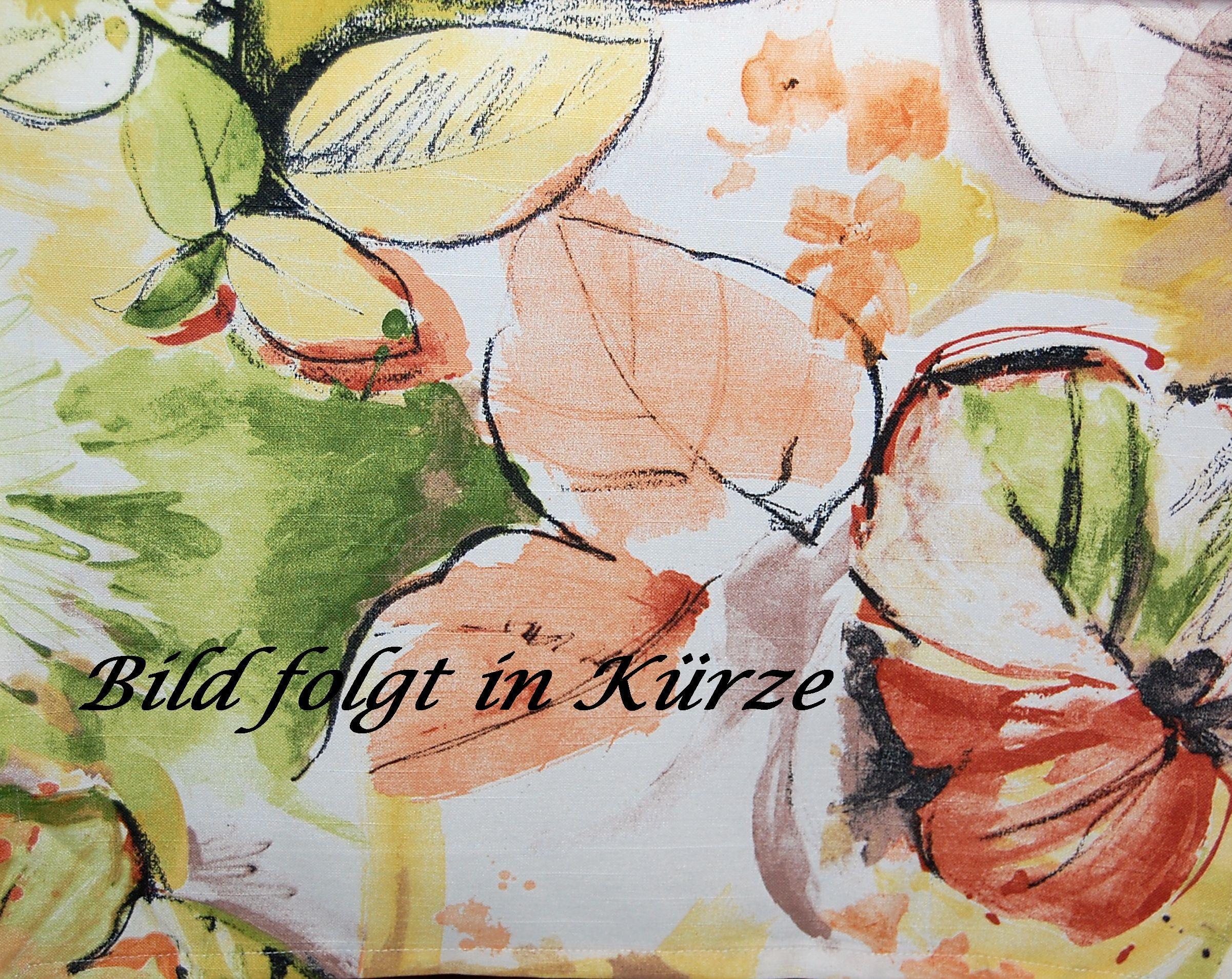 tablecloth autumn modern leaves digital print orange green. Black Bedroom Furniture Sets. Home Design Ideas