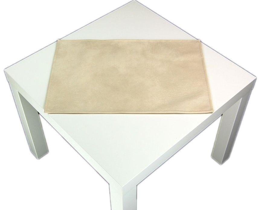 2 er platzset abwaschbar waschleder optik platzmatte. Black Bedroom Furniture Sets. Home Design Ideas