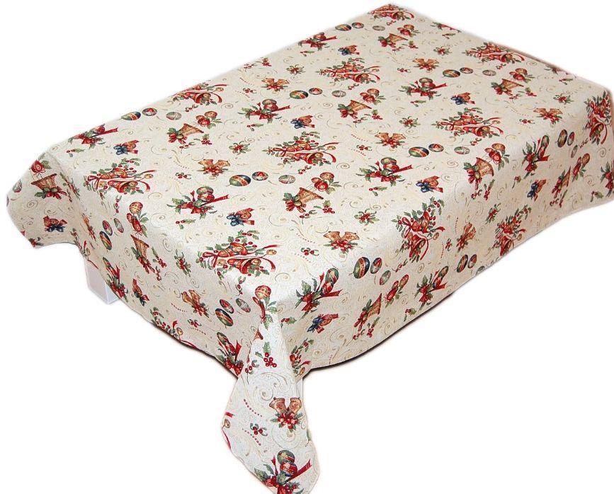 hossner tischdecke weihnachten gobelin tischtuch decke. Black Bedroom Furniture Sets. Home Design Ideas