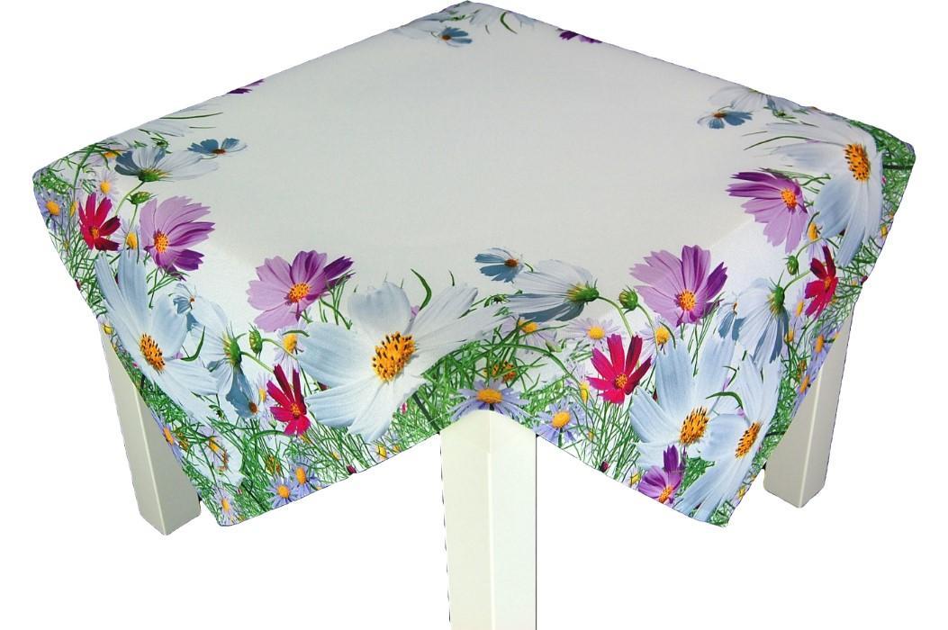 tischdecke anemone wei bunt kissen tischl ufer deckchen. Black Bedroom Furniture Sets. Home Design Ideas