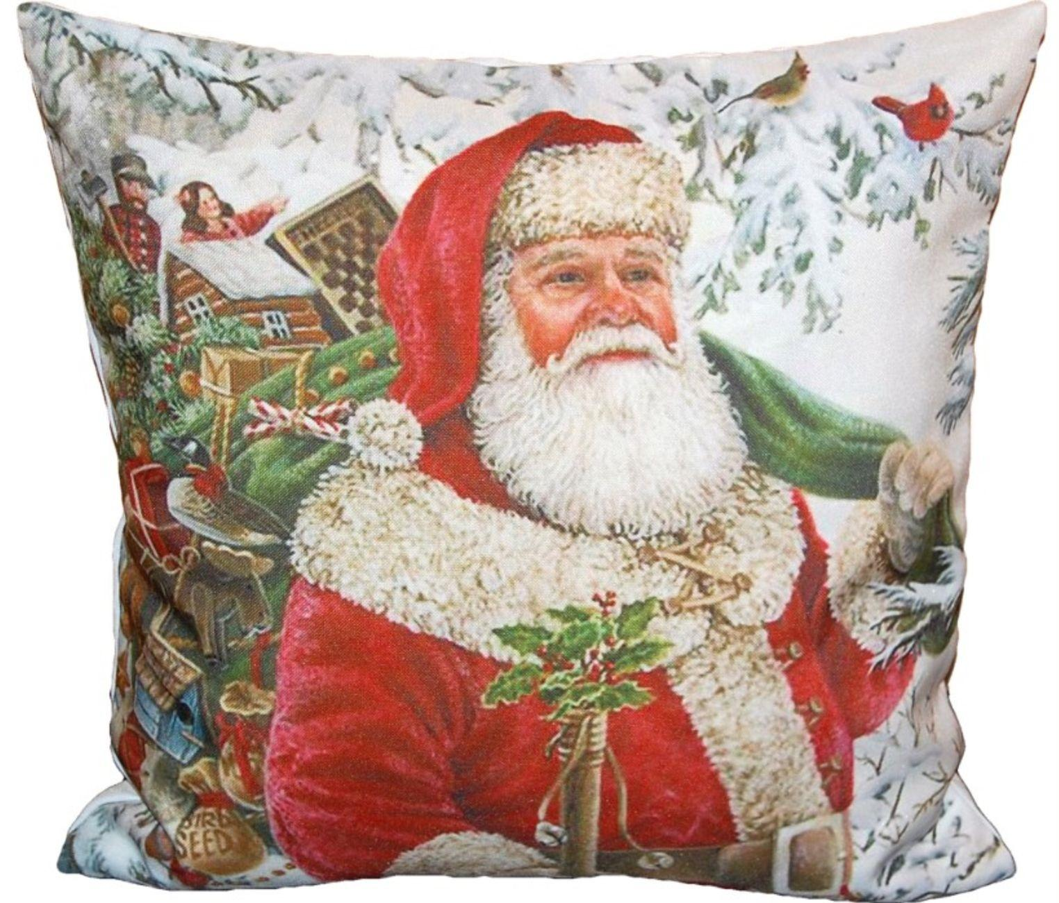 kissenh lle 40x40 cm weihnachten kissenbezug weihnachtskissen zierkissen kinder ebay. Black Bedroom Furniture Sets. Home Design Ideas