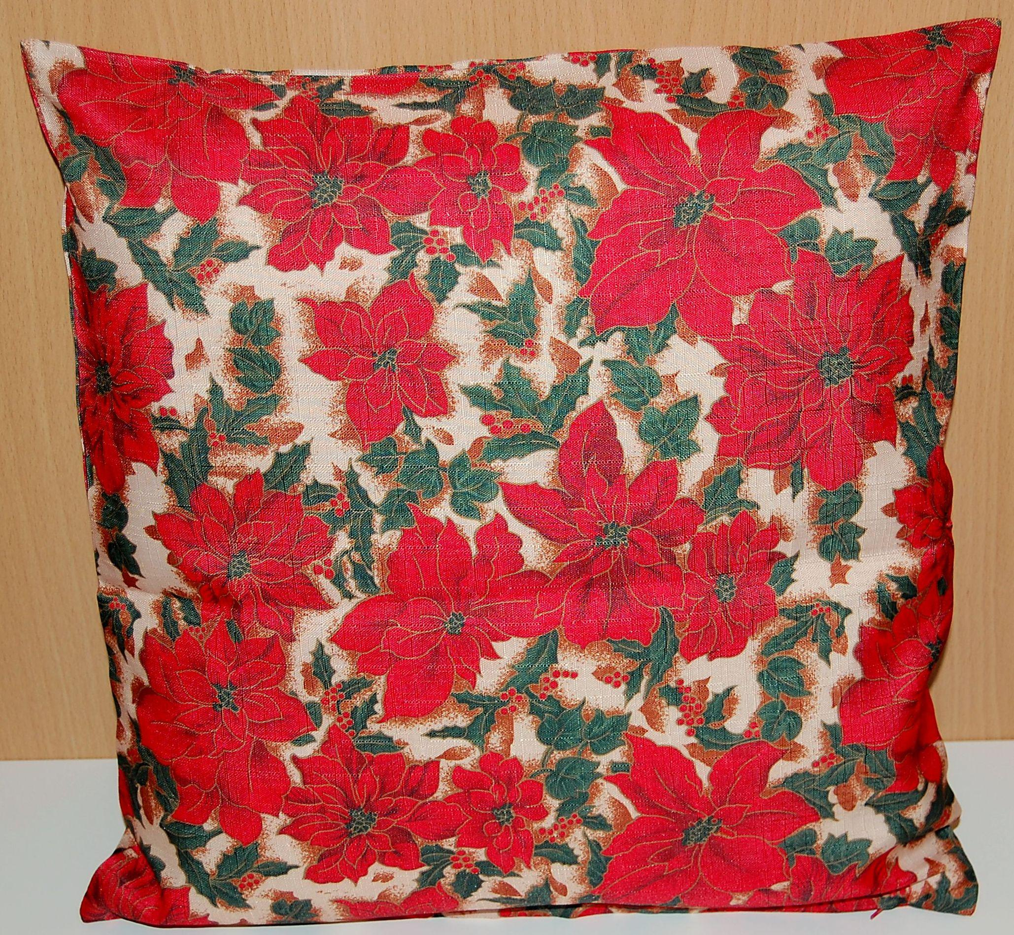 tischdecke weihnachten pflegeleicht advent rot tischl ufer kissenh lle tischtuch ebay. Black Bedroom Furniture Sets. Home Design Ideas