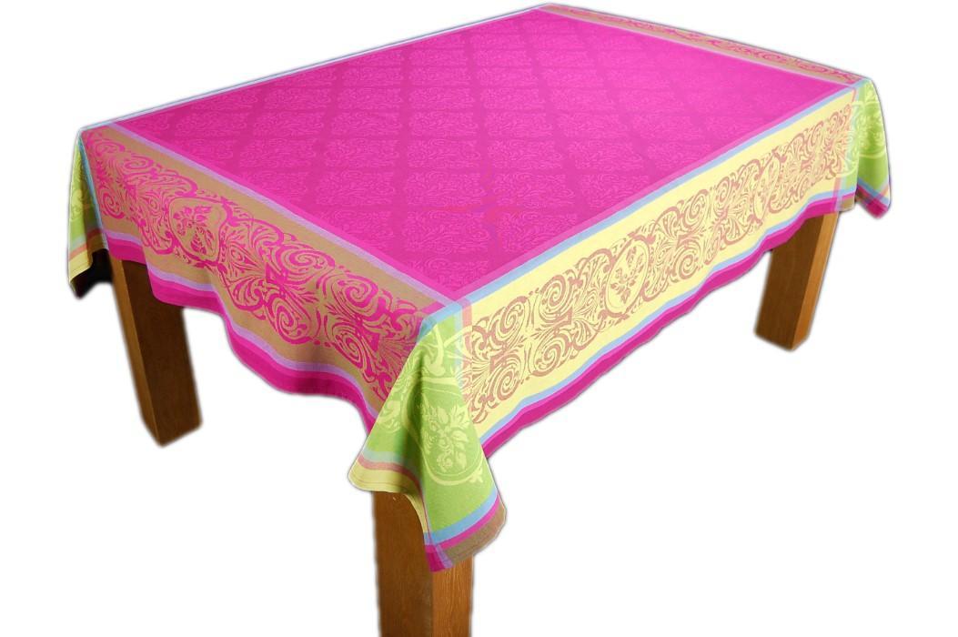tischdecke baumwolle teflon baumwolldecke eckig provence gartendecke tafeltuch ebay. Black Bedroom Furniture Sets. Home Design Ideas