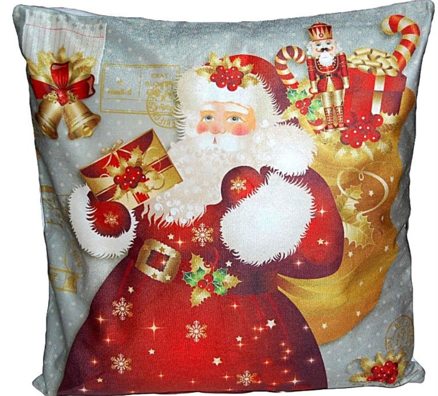 kissenh lle 40 x 40 cm weihnachten sofakissen zierkissen. Black Bedroom Furniture Sets. Home Design Ideas