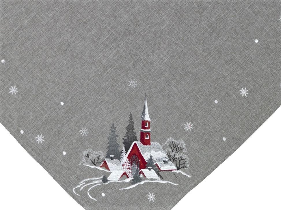 Weihnachtstischdecke Mitteldecke Decke Weihnachten Tischdecke Kirche Eckig 85x85