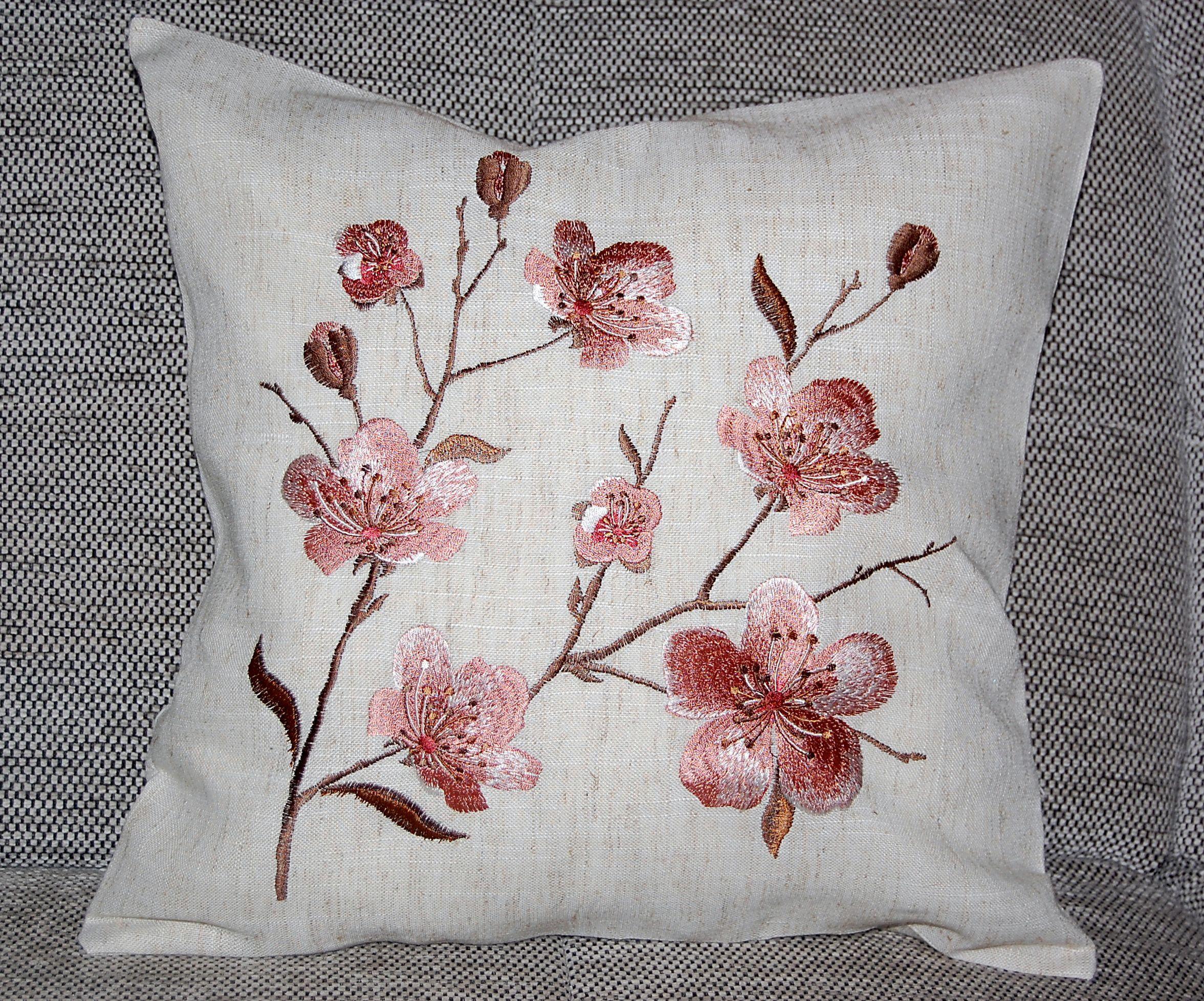 kissenh lle 40x40 cm natur leinenoptik romantik kissenbezug kissen kissenplatte ebay. Black Bedroom Furniture Sets. Home Design Ideas