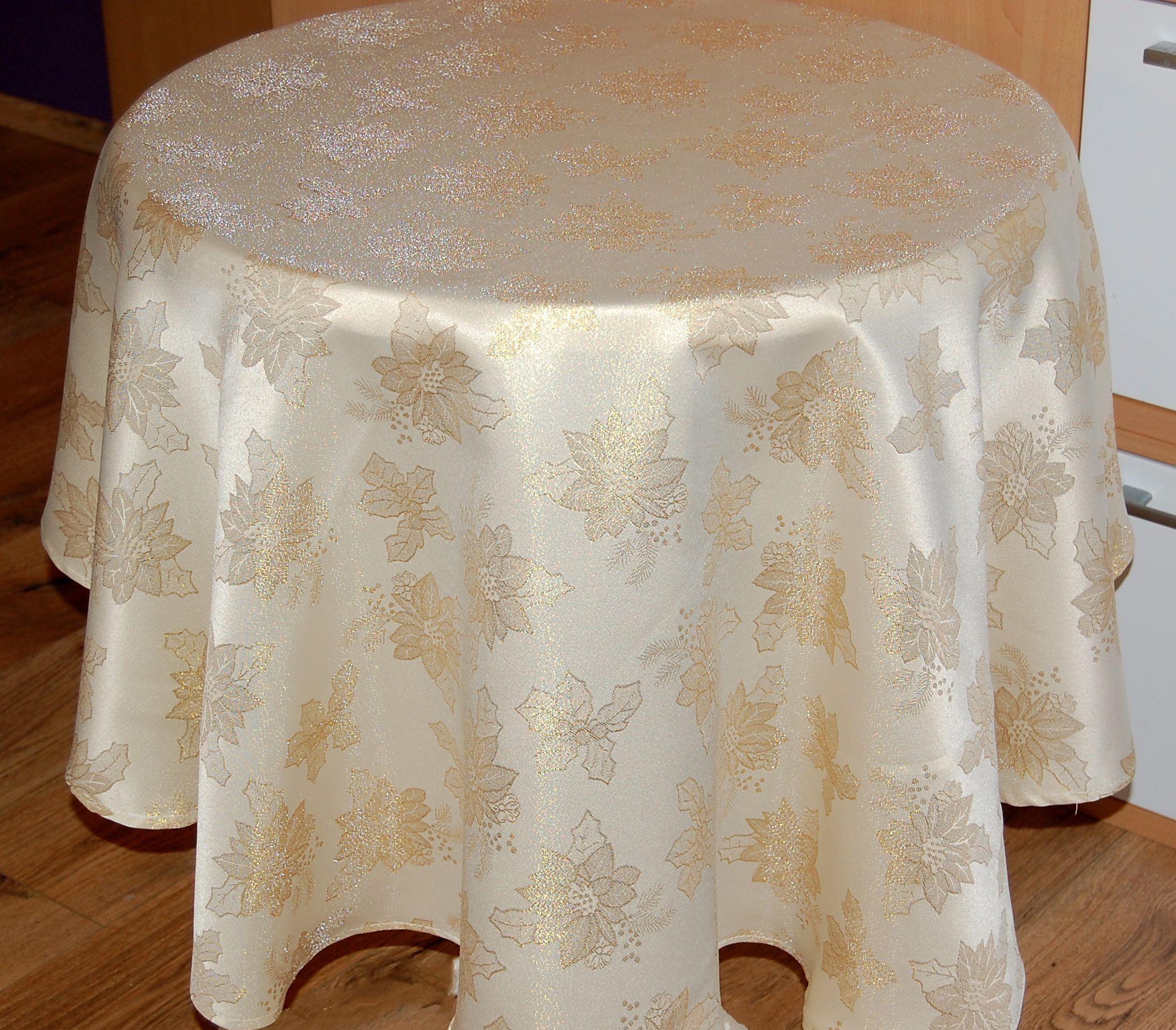 Tischdecke Tafeltuch Sternenlicht 85 cm x 85 cm rot Weihnachten