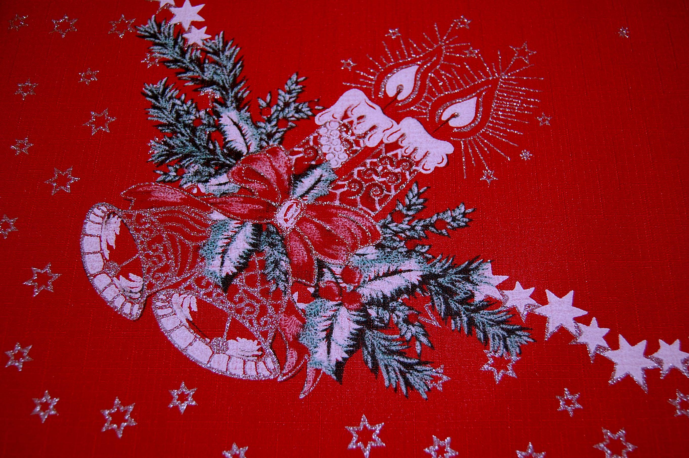 tischdecke 120x140 cm weihnachten rot tischtuch weihnachtsdecke teflon tafeltuch ebay. Black Bedroom Furniture Sets. Home Design Ideas