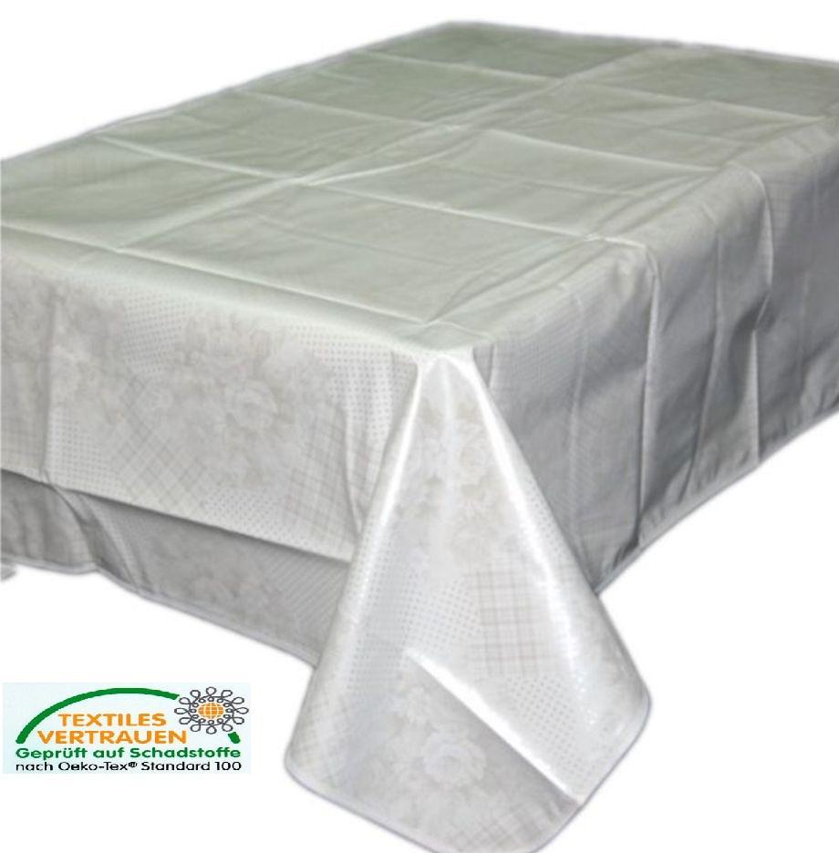 Tischdecke Tischschutz WASSERDICHT Abwaschbar Folie Rund Decke Schutzdecke Küche