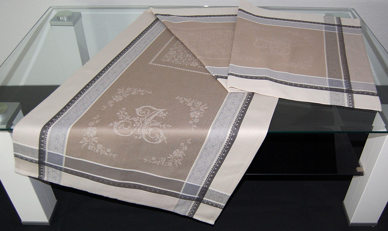 tischdecke 50x160 cm baumwolle teflon beschichtet provence tischl ufer aufleger ebay. Black Bedroom Furniture Sets. Home Design Ideas